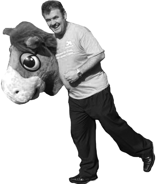 HorseWorld M.D. Mark Owen: management skills of the back end of a panto horse